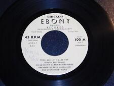 """♫ EX Oscar Brown/Sollie McElroy""""Teen age Love/Signifying Monkey""""45 EBONY R&B Mp3"""