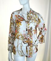 Camicia Blusa Donna TOY G. by PINKO Made in Italy H530 Tg 40 44 veste piccolo