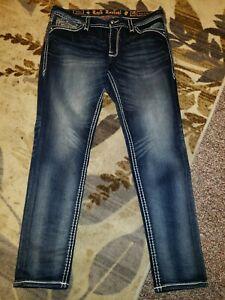 New Rock Revival Telma Easy Skinny Jeans Sz 32