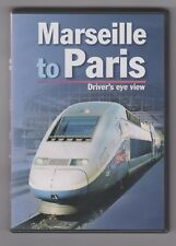 Marseille To Paris (DVD) Railway DVD ~ Drivers Eye View ~ Cab Ride ~ Video 125
