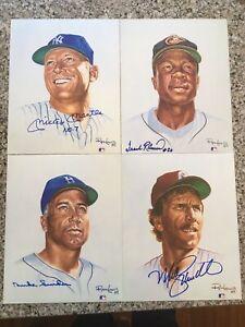 Ron Lewis/Living Legends Baseball/ Complete Set/Signed/20/ 8x10/ #2200