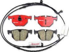 Disc Brake Pad Set-Premium NAO Ceramic OE Equivalent Pad Rear Brembo P06033N