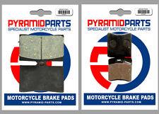 KTM 640 Duke 99-02 Front & Rear Brake Pads Full Set (2 Pairs)