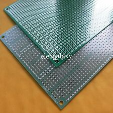 2pcs Stripboard Fibreglass 9.3x11cm pcb 5er joint hole circuit board platine