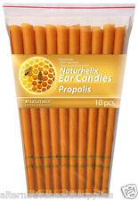 Naturhelix Ear Candles Propolis 5 Pairs Organic Beeswax and Cotton  ARTG 185554