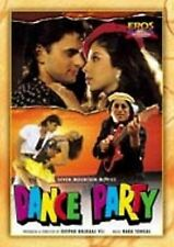 DANCE PARTY  - BRAND NEW ORIGINAL BOLLYWOOD DVD - FREE UK POST