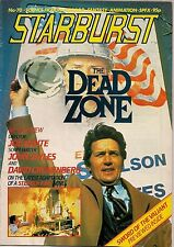 Starburst No.70 1984 THE DEAD ZONE, DINOSAUR MOVIES, JOE DANTE