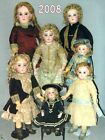 6 Dolls Auction sell catalogues Toys Games Automatons - Year 2008