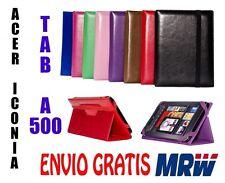 """FUNDA  ACER ICONIA TAB A500  10,1""""- MEDIDA ESPECIAL - 8 COLORES - UNIVERSAL"""
