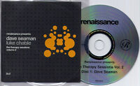 DAVE SEAMAN & LUKE CHABLE Therapy Sessions Vol 2 25-trk promo mix 2-CD