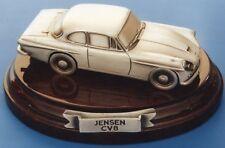 JENSEN CV8 - SOLID PEWTER MODEL CAR HANDCRAFTED IN UK