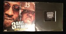 8 Ball And MJG Living Legends Brand New Sealed Hip-Hop With Free iMX Sealed 12""