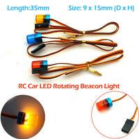 RC Car LED Rotating Beacon Light Flashing For Trucks Crawlers Model Toy Accs