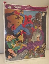 Vintage Marvel Bronze Age The Amazing Spider-Man Frame Tray Puzzle 1979 Sealed