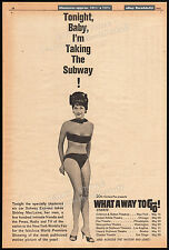 WHAT A WAY TO GO!__Original 1964 World Premiere Trade AD_poster_SHIRLEY MACLAINE
