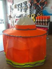 Hard Hat Sunshield with Neck Protector and Back Mesh Pocket