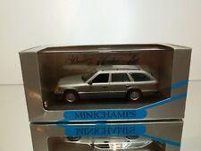 MINICHAMPS 3309 MERCEDES BENZ 300TD TURBO BREAK 1991 - SILVER 1:43 - GOOD IN BOX