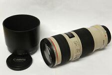 Canon EF 70-200 mm / 4,0 L IS USM  Objektiv für Canon EOS gebraucht (1)
