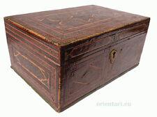 Antique Persian hand made Judaic Khatamkari Marquetry Torah Box, 19th C.   No:C