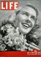 Life Magazine July 8 1946 DDT Ethel Merman Hughes Flying Boat US Super Planes