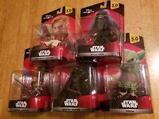 Lot of NIB Disney Infinity 3.0 STAR WARS Lightsaber Figures - Ships Same Day
