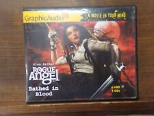 Graphic Audio 5 CD Set Alex Archer Rogue Angel Bathed In Blood Audiobook
