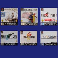 PS1 - Playstation ► Final Fantasy Spiel nach Wahl - IV | V | VII | VIII | IX ◄