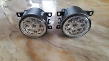 2x LED Front Bumper Fog DRL Lamps lights Land Rover Discovery 3 4 conversion