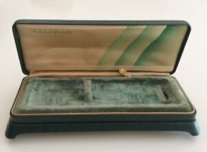 Scatola WALTHAM Vintage Watch Box Green 6 15 cm