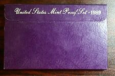 1989-S United States Proof Set, 5 Coins with Orginal Mint Packaging Included