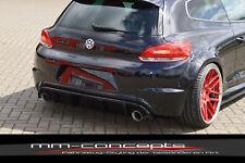 Cup Diffusor Ansatz für VW Scirocco 3 III R + LINE Bj. 09-14 Heck Ansatz INE
