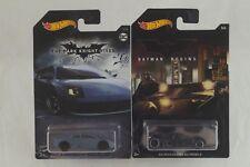 Hot Wheels Batman Dark Knight Rises Lamborghini Murcielago + Batmobile Begins