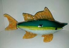 HQT Handmade Glass Marlin 14x7