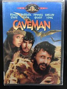 CAVEMAN 1981 DVD WS FS RARE OOP MGM Ringo Starr Shelley Long NTSC 1