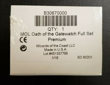 MTG Magic the Gathering Oath of the Gatewatch Foil Premium Complete Set Sealed