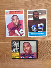 Cleveland Browns Bobby Mitchell Signed 1962 Topps card