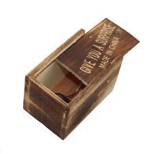 1PCS New Magic Wooden Puzzle Box Puzzle Wooden Secret Trick Intelligence