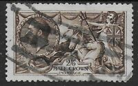 SG399. Waterlow 2s6d.Deep Sepia. Good Used With Fine Colour. Cat.£180. Ref:0-75