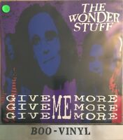 """WONDERSTUFF Give Give Give Me More More  12""""  vinyl Single  EX CON"""