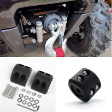 1X UTV ATV Winch Cable Wire Rope Hook Stopper Rubber Cushion Protector Fittings