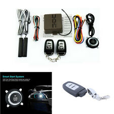 Car Alarm System Security Keyless Entry Push Button Ignition Remote Engine Start