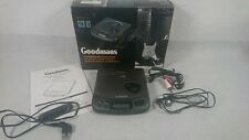 More details for goodmans gcd 83 - rechargeable personal cd player with remote - boxed - rare