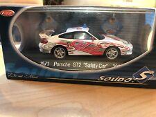 "PORSCHE GT2 ""Safety Car"" 2003 1/43 SOLIDO  Réf 1571"