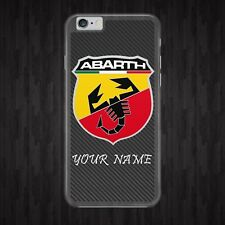 PERSONALISED/ABARTH/LOGO/CARS PHONE CASE COVER/FITS IPHONE SAMSUNG HUAWEI MODELS