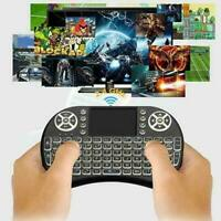 Mini clavier sans fil 2.4Ghz avec pavé tactile pour PC Smart TV Android BOX KY