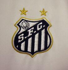 SANTOS FC shield logo South America futbol lrg jersey beat Umbro soccer Brazil