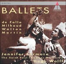 Ballets: De Falla, Milhaud, Walton, Martin CD, St. Paul Chamber Orchestra