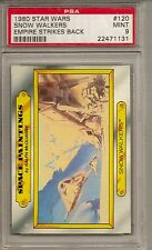 1980 STAR WARS #120 SNOW WALKERS - EMPIRE STRIKES BACK  PSA 9  MINT