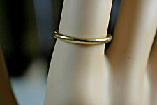Tiffany &Co 18K Rose Gold Bezet 1.7mm Wedding Band Ring Sizable 5.5 Pouch,Box...