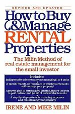 How to Buy and Manage Rental Properties : The Milin Method of Real Estate...